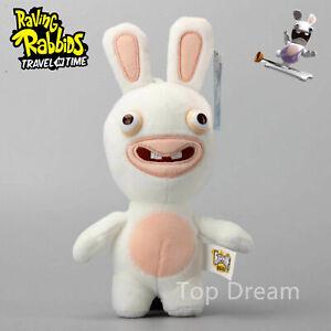 Cartoon Rayman Raving Rabbids Soft Plush Toy Stuffed Animal Doll 9'' Teddy Gift