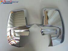 FORD TRANSIT CUSTOM Torneo Chrome Wing Mirror Covers ABS 2012 à partir de 2
