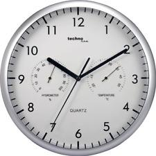 Technoline Wt 650 - Reloj de Pared con Termómetro Y Medidor de Humedad