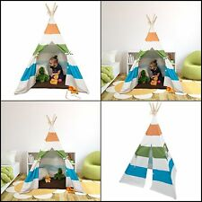 Indoor Teepee Play Tents House Toy for Girls and Boys Toddlers Kids Xmas Gift