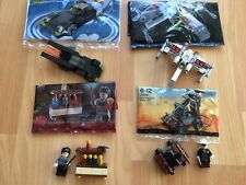 HUC 4 X *REAL* LEGO POLYBAGS HARRY POTTER LONE RANGER STAR WARS & BATMAN