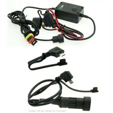 Angled Micro USB Motorcycle Direct to Battery Hard Wire Phone / GPS Charger