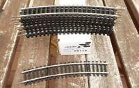 Tillig 89115 Piko DDR Gleis H0 10 x gebogenes Gleisstück 760 mm mit Hohlprofil