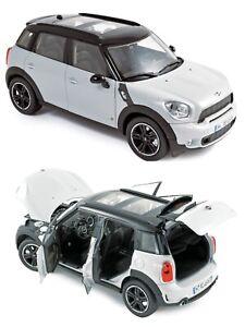 1/18 Norev Mini Cooper S 2010 Light Wight Black Roof Neuf Livraison Domicile