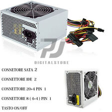 ALIMENTATORE PC 500W ATX 2 SATA 2 IDE 500 WATT VENTOLA 12 CM PC DESKTOP