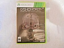 Dishonored: Shooter Game of the Year 2013 XBOX 360 MATURE Action/Adventure