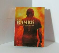 Rambo 1-4 The Complete Collectors Set (DVD 6-Disc Set) Sylvester Stallone