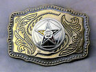 Order of the Eastern Star Belt Buckle Western Style New Design!!