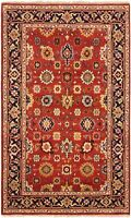 "Hand-Knotted Carpet 5'0"" x 8'0"" Traditional Oriental Wool Area Rug"