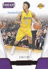Nick Young 2016-17 Panini Threads RED FOIL Card Lakers d#168/199