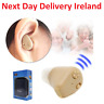 Reusable Rechargeable Mini In-ear Hearing Aids Aid Sound Adjusted Amplifier UK
