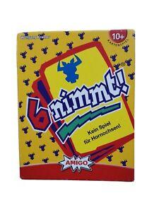 6 nimmt von Wolfgang Kramer Amigo Kartenspiel 10+ 2 - 10 Spieler neuwertig
