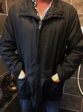 Hugo Boss Black Label Waxy feel 'Jan' Mid Length winter coat Size 50 XL