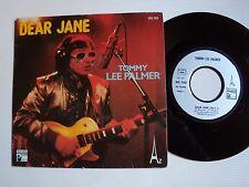 """TOMMY LEE PALMER : Dear Jane (J-P BOUAZIZ) 7"""" 45T 1979 disco-pop HANSA AZ SG 702"""
