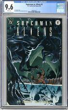 Superman vs. Aliens  #3   CGC  9.6   NM+  White pgs  9/95 Don Jurgens story, & J