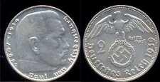 GERMANIA (Reich)1939 moneta silver da 2 marchi serie A - OCCASIONE