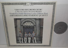 414 277-1 Vivaldi Locke Virtuoso Recorder Music Amsterdam Loeki Stardust Quartet