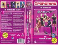 POP STARS THE MAKING OF BARDOT THE OFFICAL STORY    VHS VIDEO PAL~