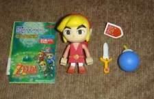 Yujin Legend of Zelda Four Swords Wind Walker Kubrick Figure Link Red Scare