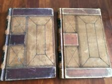 Lot of Two 1875 Shipping Ledgers for Long Island New York Manure Factory Wiggins