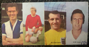 Uncut Denis Law Eagle Swift Soccer Stars Manchester United Football Trade Card