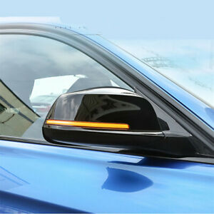 Smoked Lens Side Mirror Sequential Blink Turn Signal Light For BMW 5 6 7 Series