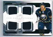 2011-12 THE CUP FOUNDATIONS DEREK ROY ROOKIE 4 JERSEY 1 COLOR 13/25 BUFFALO