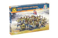 Italeri 1/72 British Infantry & Sepoys Soldiers Colonial Wars Set 6187 NEW!
