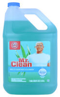 Mr. Clean Multi-Surface Cleaner with Febreze Meadows & Rain, 128 oz 1 gallon