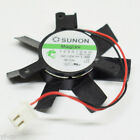 1pc Sunon 125010VH 50x50x10mm 5010 7 blades 12V 1.3W 2 Pin Graphics Card Fan