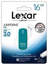 Lexar 16GB JumpDrive® S35 SuperSpeed USB 3.0 Flash Drive with Capless Design.