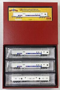 MircoTrains N Scale 3 Car Multi-Pack RBBX Ringling Barnum Bro's #993 00 053