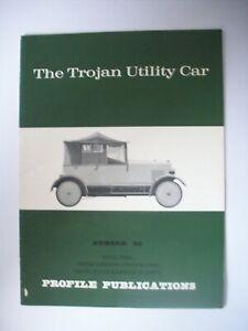 THE TROJAN UTILITY CAR  PROFILE PUBLICATIONS NO 80