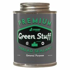 Jomar Valve - The Green Stuff 400-103 General Purpose Thread Sealant,8Oz.,Can