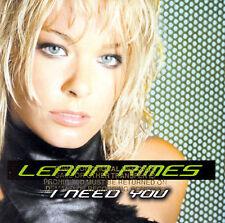 I Need You by LeAnn Rimes (CD, Mar-2002, Curb)