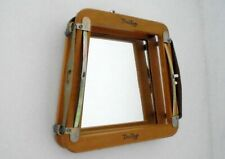 Vintage DUNLOP Wooden Racket Clamp MIRROR Upcycled