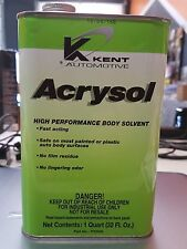 Acrysol Tire Cleaner (Quart) Go Kart Racing Tires Prep Grip New