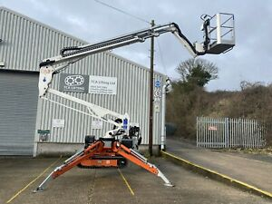 2017 Easy Lift R180 (18m) Spider Lift Tracked Cherry Picker (MEWP)