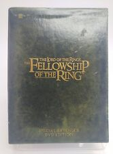 LORD OF THE RINGS FELLOWSHIP RING Movie on a 4 Disc DVD EXCELLENT DISC FASTSHIP