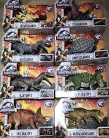 Jurassic World COMPLETE SET OF 8 Roarivores Figures- BARYONYX ALLOSAURUS NEW