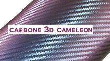FILM VINYLE CARBONE 3D CAMELEON 150 x 50 cm