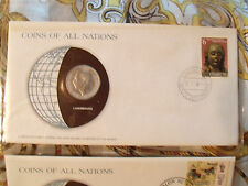 Coins of All Nations Luxembourg 10 Francs 1977 UNC