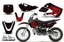 Decal Graphic Kit Wrap For Kawasaki KLX 110 2002-2009 KX 65 2002-2018 RELOAD R K