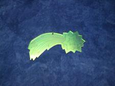 5902) Verre acrylique,déco,Noël,étoile filante en Radiant,3mm,gravé au laser