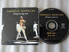 CD-FREDDIE MERCURY-LIVING ON MY OWN-MADE IN HOLLANDE-EMI-(CD SINGLE)93-2TRACK