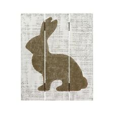"""Easter Wood Pallet Rabbit Sign by Collings Painting & Design BRAND NEW 12"""" x 10"""""""