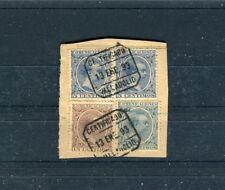 Briefausschnitt Spanien 5+15+25 Centimos MiF Stempel Valladolid - b4592