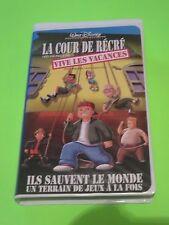 LA COUR DE RÉCRÉ VIVE VACANCES WALT DISNEY FRENCH VERSION VHS RARE LEARN FRENCH
