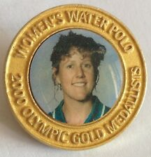 Womens Water Polo 2000 Sydney Olympic Gold Medal Pin Badge Rare Vintage (F3)