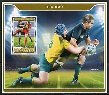 TOGO  2017 RUGBY SOUVENIR SHEET MINT NH